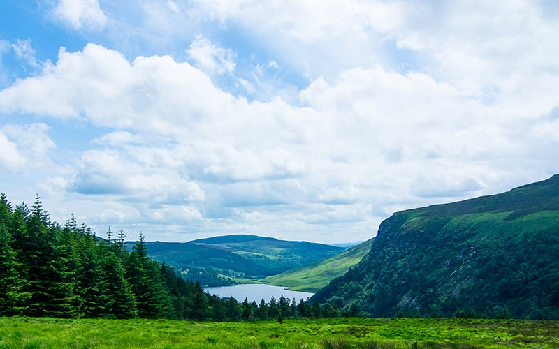 Loch Tay, Guinness Lake, Roundwood, Co. Wicklow