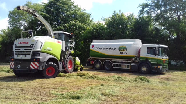 Glen Fuels Lorry Silage Season