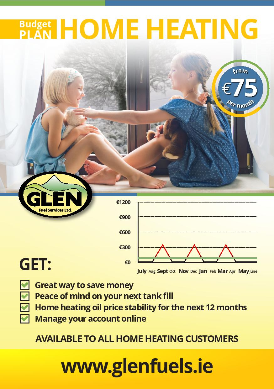 Glen Fuels Home Heating Oil Monthly Payment Plan