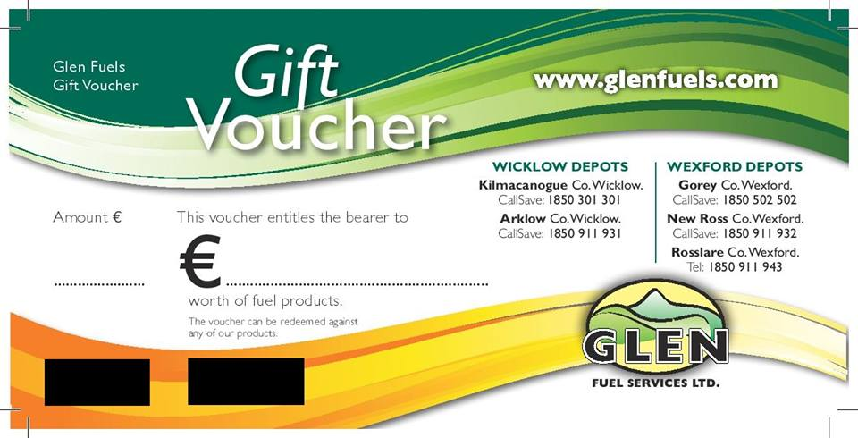 glen fuels gift voucher