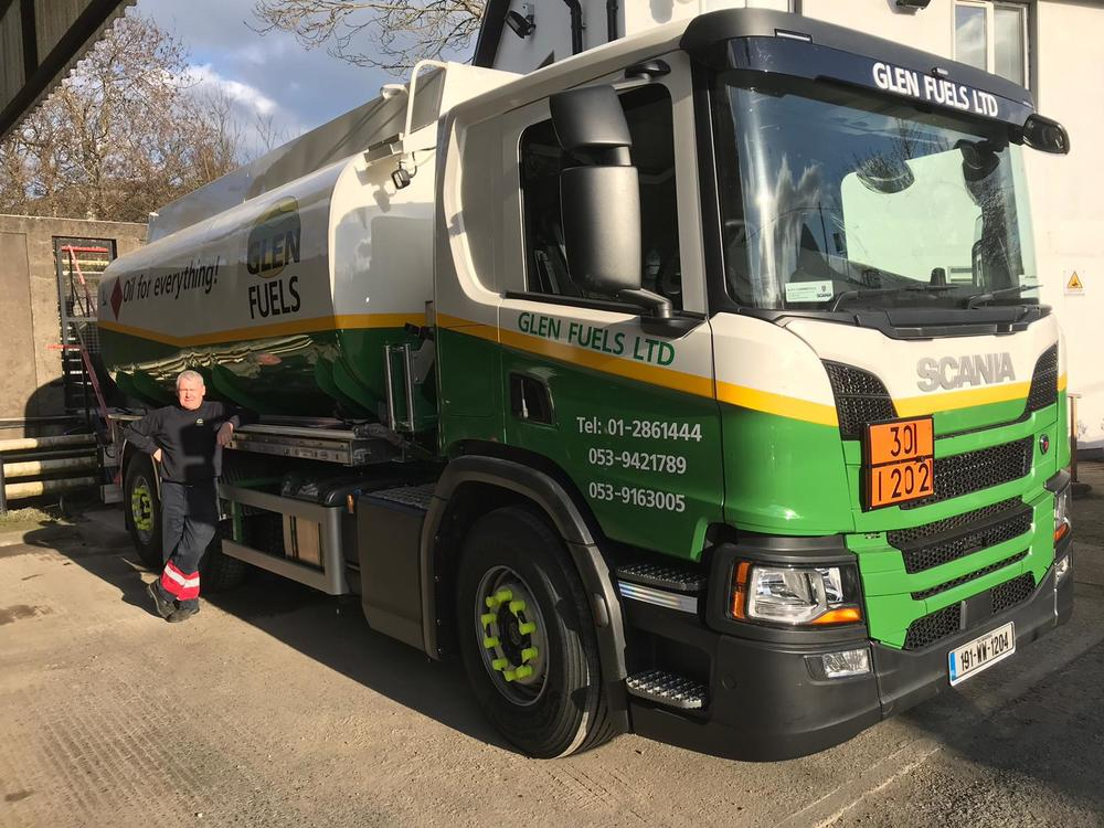 Scania Remounted Lorry Glen Fuels 2019