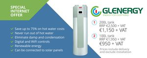 Environmentally Friendly Hot Water Costs 70% Less