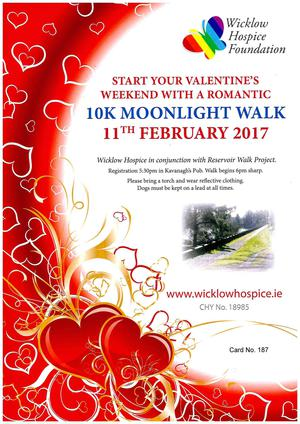 Wicklow Hospice Moonlight Walk
