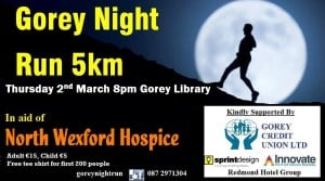 Gorey Night Run