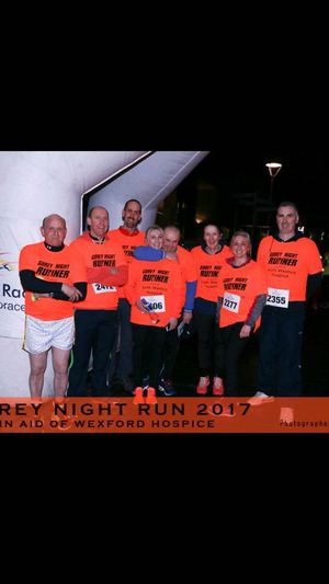 Gorey Night Run for Wexford Hospice