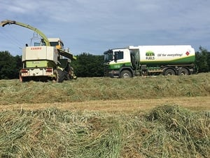 What is silage cutting?