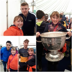 Young Glen Fuels at National Ploughing Championships